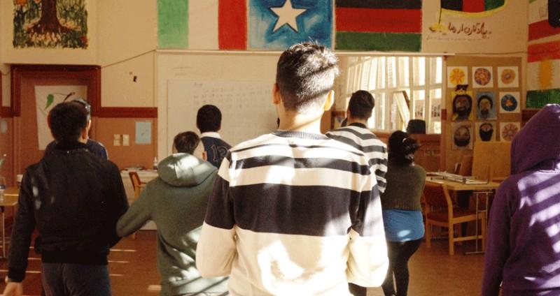 Kurs for asylungdom på Hvalstad mottak