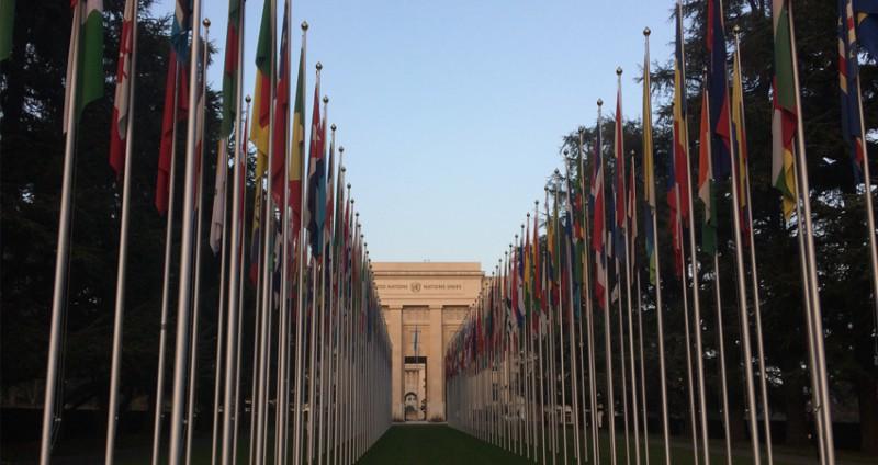 Besøk til FN i Geneve