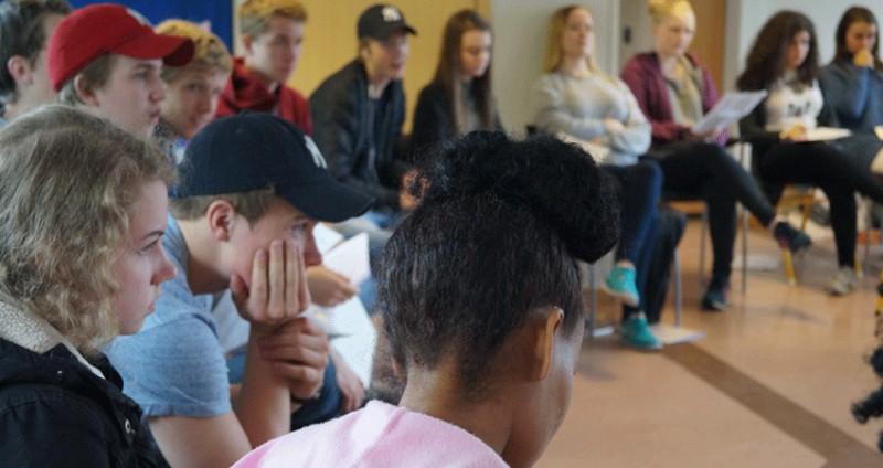Møteplass for flyktningungdom og norsk ungdom