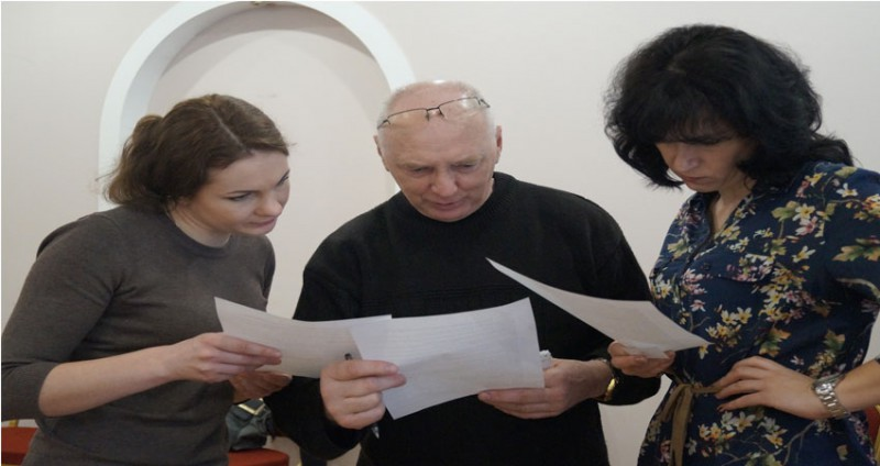Gjensyn med lærere i Tambov, Russland