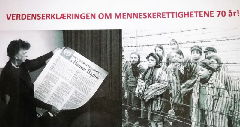 Verdenserklæringen 70 år idag: Brett opp ermene og fortsett kampen!
