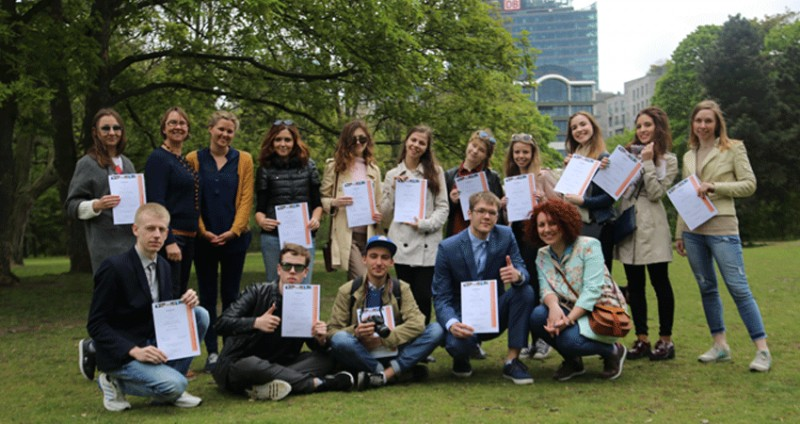 Study trip to Berlin for Russian journalism students