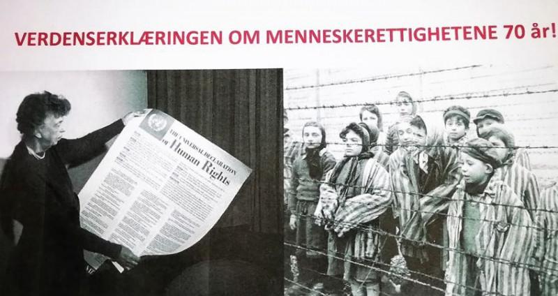 Verdenserklæringen 70 år: Brett opp ermene og fortsett kampen!
